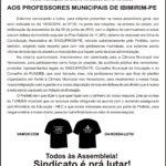 CARTA ABERTA IBIMIRIM - 08-06-2016