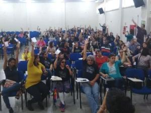 Categoria decidiu em assembleia manter a paralisação na rede de ensino (Foto Divulgação/Gracindo Ramos)