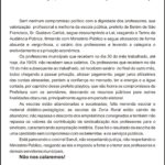 CARTA ABERTA BELEM DO SAO FRANCISCO 19-09-2016