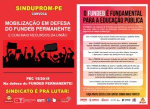 CARTAZ MOBILIZACAO PEC 15-2015 - DOIS POR FOLHA
