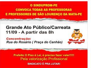 CARTAZ CARREATA 11-09-2020