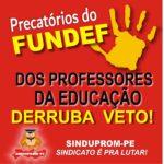 CARTAZ DERRUBA O VETO - 29-09-2020