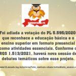ADIADA VOTACAO PL 5.595-2020